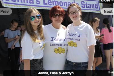 Jenna's Lemonade Stand 2017