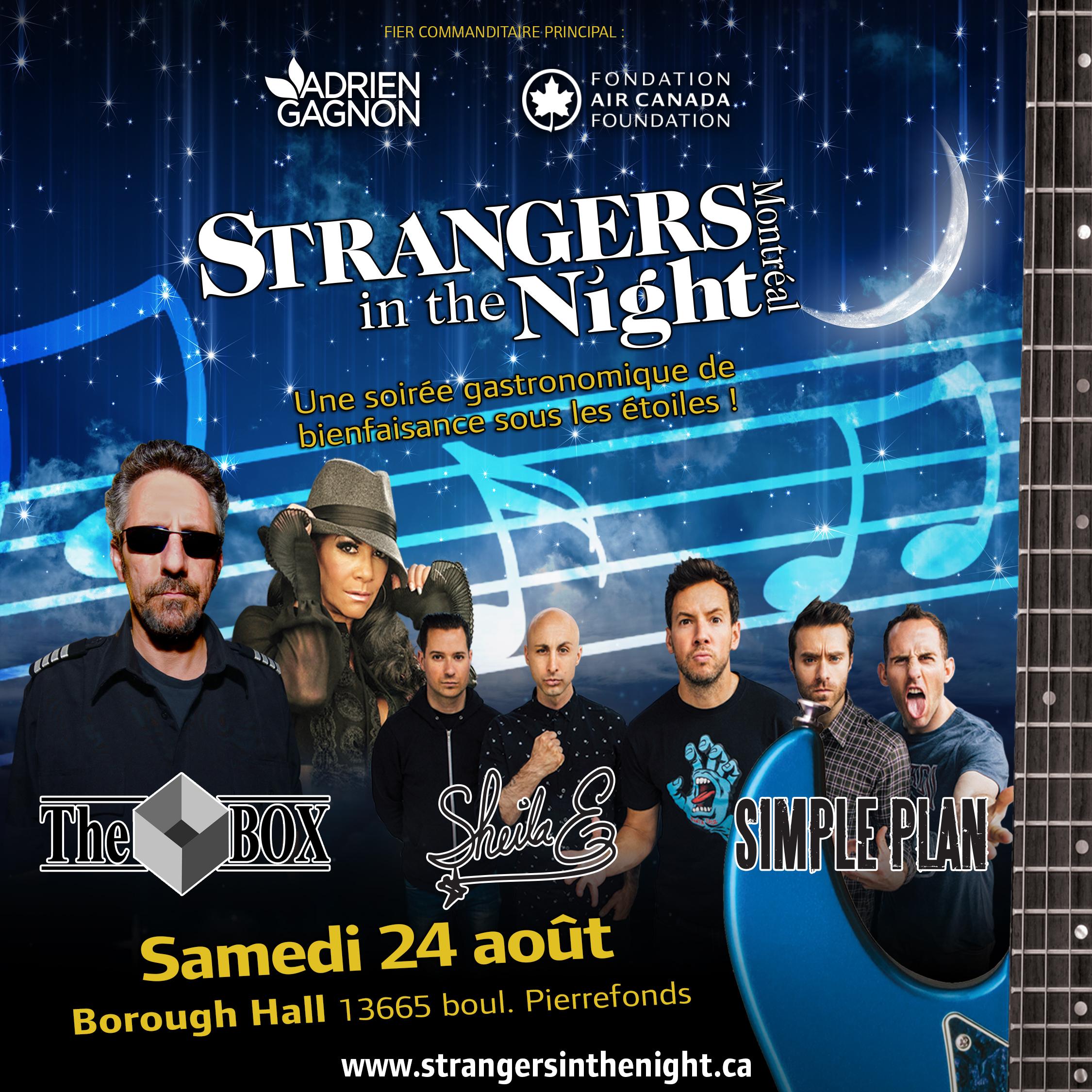 Strangers in the Night Gala – au profit de Lymphome Canada