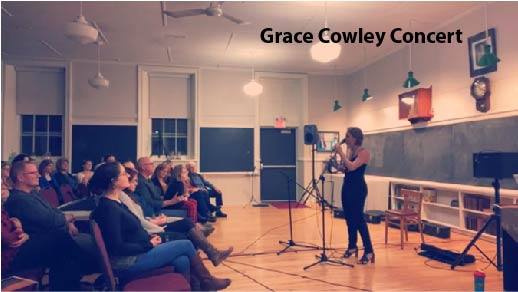 Grace Cowley Concert