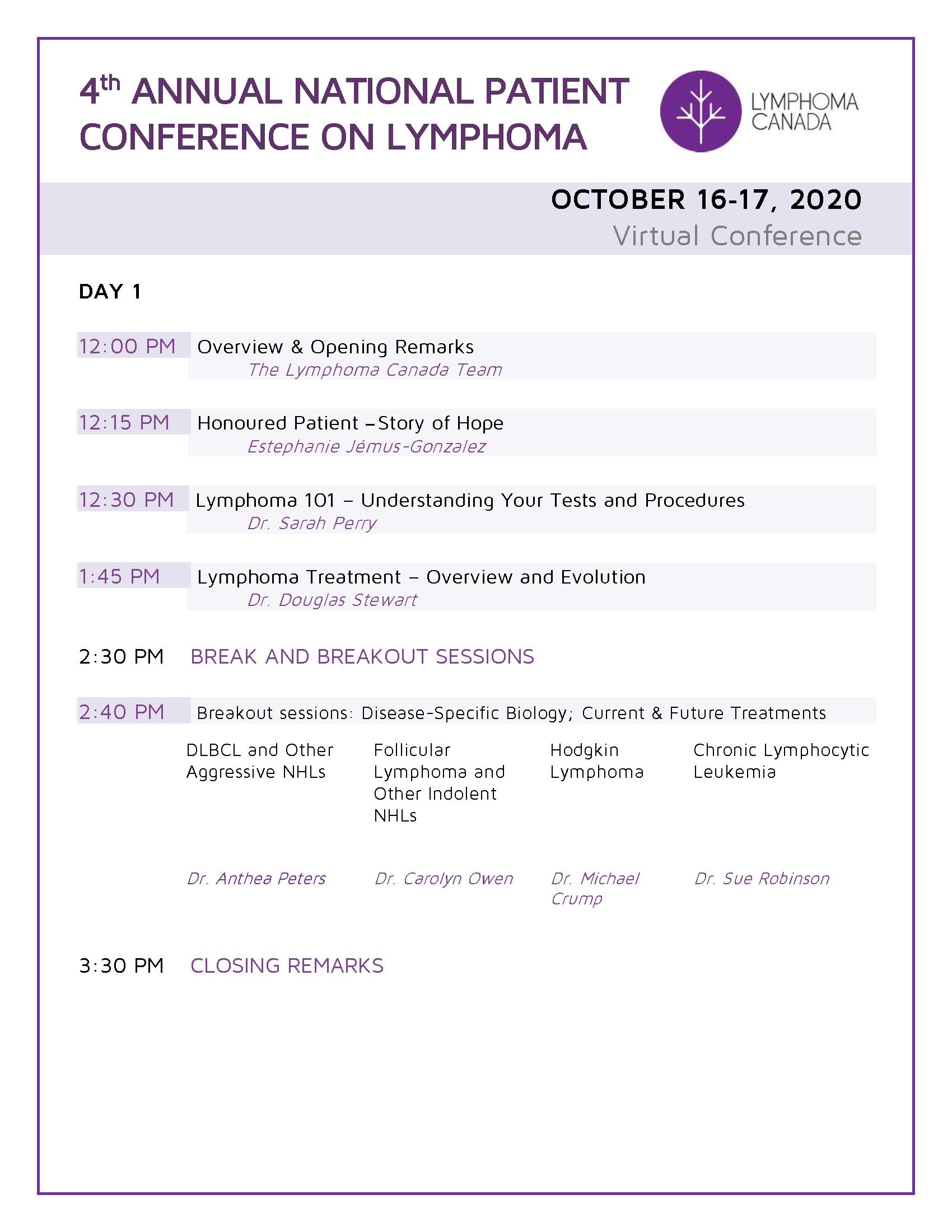 National Conference Agenda